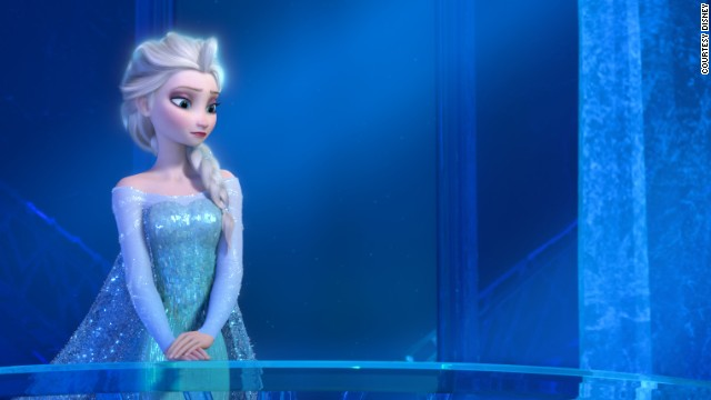 Dougie Hamilton's Elsa versus the real thing?