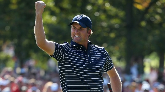Webb Simpson was also part of the 2012 United States team at Medinah. Despite an up and down year form wise, Watson said Webb's contribution two years convinced him to pick the 2012 U.S. Open champion.