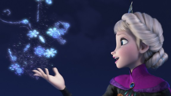 "Elsa is the star of 2013's ""Frozen,"" based on Hans Christian Andersen's ""The Snow Queen."" It's the highest-grossing animated film of all time and it's being made into a Broadway show."