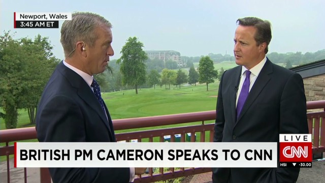 British PM weighs in on ISIS