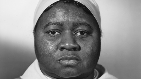 """Hattie McDaniel received the best supporting actress Oscar for her role as Mammy, becoming the first African-American to win an Academy Award. """"She brought something to the performance that really stood out,""""  says Steve Wilson, the exhibition curator. However, segregation in the South prevented the actress from attending the movie's December 1939 premiere in Atlanta with other celebrities."""
