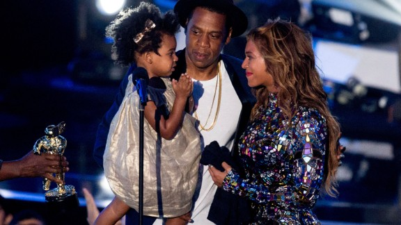 "At the 2014 MTV Video Music Awards, Beyonce was awarded with the Michael Jackson Vanguard Award, which is given to ""exemplary musicians who have made an incredible and long-lasting impact on pop culture."" The singer accepted the award on August 24 from her husband, Jay Z, and daughter, Blue Ivy."