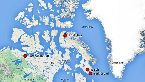 The boat will start in Anchorage, Alaska and end up in New York.