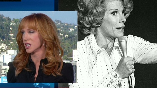 Kathy Griffin: Joan blazed a trail