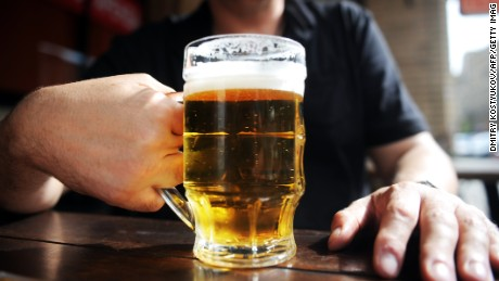"""Moderate"" drinking -- up to one drink a day for women or two drinks a day for men -- is OK, says the CDC."