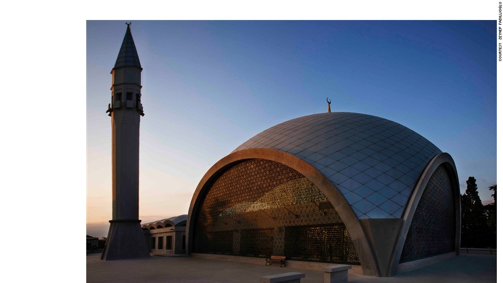 Behold Istanbul's spectacular Sakirin Mosque. Believed to be the first mosque partly designed by a woman, it combines a sleek modernist style with traditional flourishes.