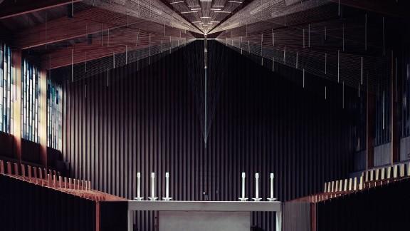 Portsmouth Abbey, Portsmouth, Rhode Island. Architect: Pietro Belluschi.