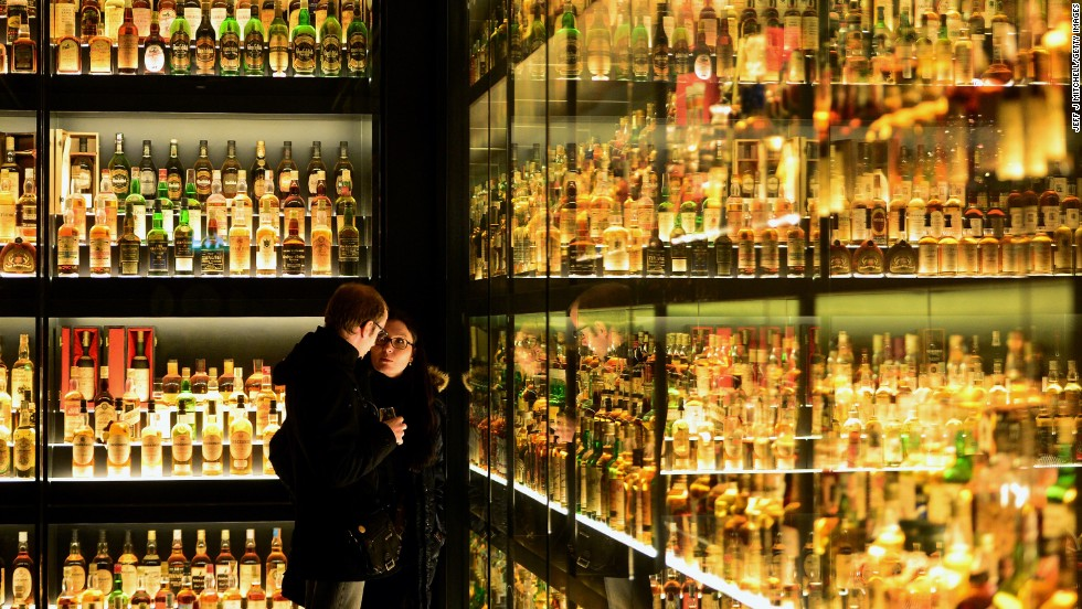 The global popularity of Scotch whiskey is boosting the country's exports.