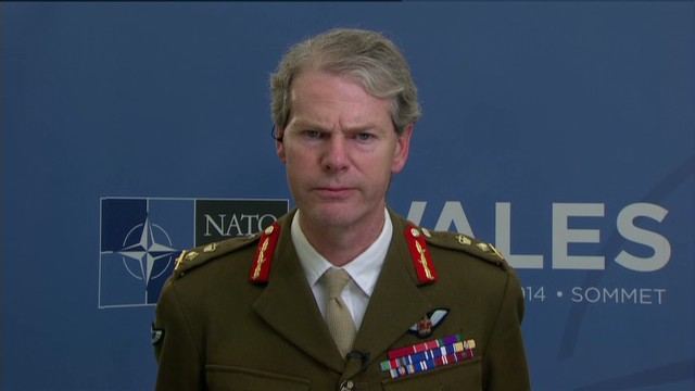 NATO General talks Ukraine, ISIS