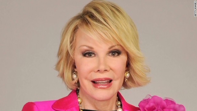 Joan Rivers and her plastic surgery