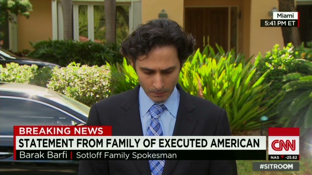 Statement from Sotloff's Family.