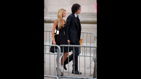 Radio host Howard Stern and wife, Beth Ostrosky Stern