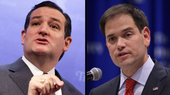 Could the next president of the United States be of Hispanic heritage? Sen. Ted Cruz of Texas, left, and Sen. Marco Rubio of Florida, both of Cuban descent, each hope to win the GOP nomination for the presidency. Click through the gallery to see other news, politics, art, culture and entertainment stories that spoke to the Hispanic community during the last year.