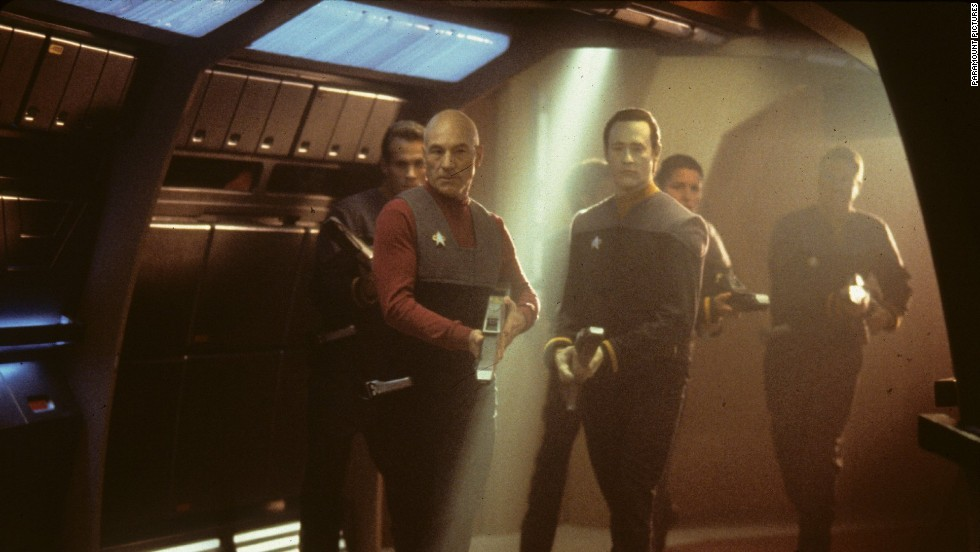 "1996's ""Star Trek: First Contact"" is often considered the best movie with the ""Next Generation"" crew. Perhaps the most action-packed of all the ""Trek"" movies, it features a battle against Picard's archenemies, an alien race called the Borg."
