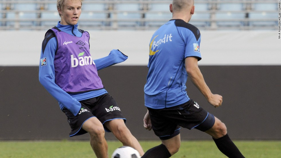 After August's UAE game, Odegaard played for Norway's Under-21 team in a 2-1 defeat by Portugal in his home city of Drammen.