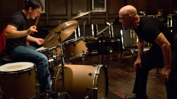 """<strong>""""Whiplash""""</strong>: The accolades came early for Miles Teller with this role as a driven jazz drummer who's pushed to the brink by an even-more-obsessive instructor (J.K. Simmons). (October 10, limited)"""