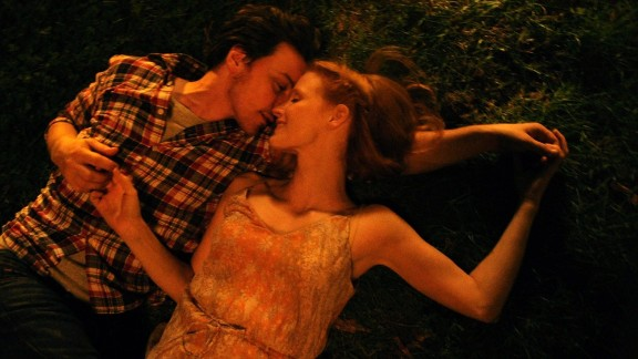 """<strong>""""The Disappearance of Eleanor Rigby""""</strong>: This film is actually three movies, as the story of one couple's unraveling is told from a trio of perspectives: his, hers and theirs. Starring Jessica Chastain and James McAvoy. (October 10)"""