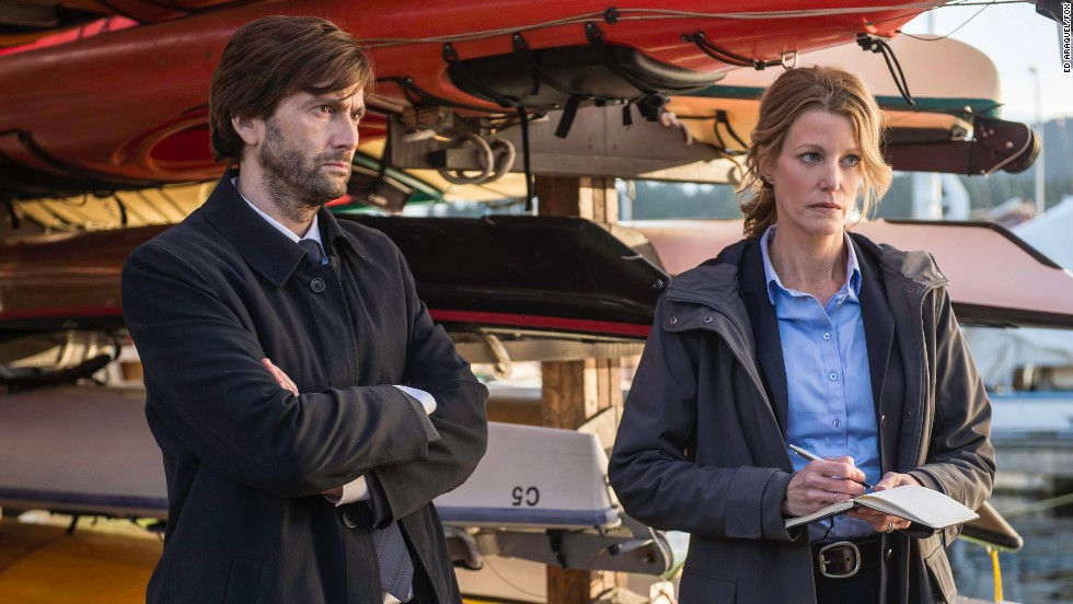 "<strong>""Gracepoint"" (Fox)</strong>: Based on the British crime drama ""Broadchurch,"" Fox's ""Gracepoint"" is set in a quiet seaside town in California that's turned upside down when a boy's body is found on the beach. (October 2)"