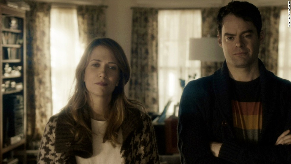 "<strong>""The Skeleton Twins""</strong>: We could leave this at ""Kristen Wiig and Bill Hader,"" but we'll be kind and provide a few more details. The former ""SNL"" co-stars are now appearing side by side as a pair of estranged twins who realize that their messy lives could be put in perspective if they work on their relationship as siblings. (September 12)"