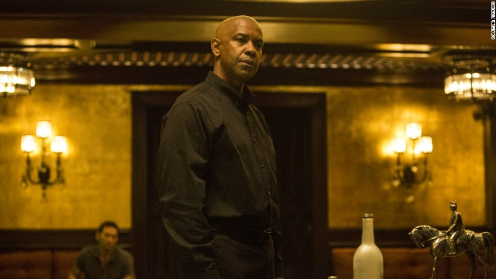 "<strong>""The Equalizer""</strong>: A determined Denzel Washington is our favorite kind. In this action movie, the actor plays a man named McCall who thought he'd put his past behind him in favor of a quiet life. But when he comes across a young girl under the thumbs of Russian mobsters, McCall gets back in business as a defender of the helpless. (September 26)"