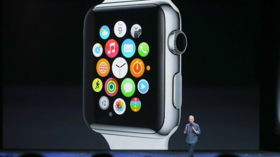 """Apple said it will sell three versions of the Apple Watch, including a sports model and an 18-carat gold model called the """"Apple Watch Edition."""" The Apple Watch also comes in two sizes, one slightly smaller than the other."""