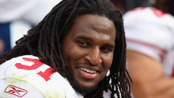San Francisco 49ers defensive tackle Ray McDonald