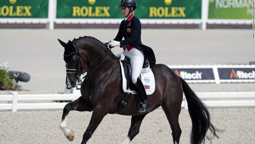 Riding Valegro, the Olympic champion beat Germany's Helen Langehanenberg (on Damon Hill) in both the special and the freestyle. Dujardin was also the top individual rider in the team event, but could not prevent Germany regaining the title.