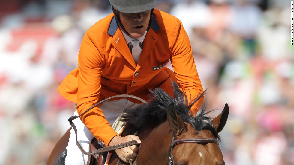 Jumping star Jeroen Dubbeldam also won two golds for the Netherlands in team and individual, becoming the first from his country to do so.