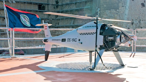 The Catrambone's project, called Migrant Offshore Aid Station (MOAS), includes two on board drones which search out migrant boats at sea. Since launching last year, it has rescued over 3,000 migrants.