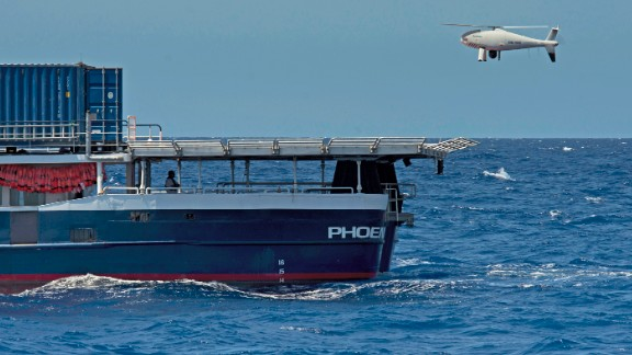 """Rescue ship """"Phoenix"""" features two drones to scout out surrounding areas."""