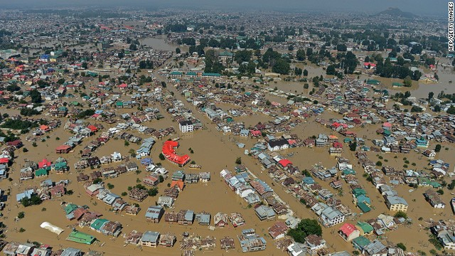 12 million hit by Pakistan, India floods