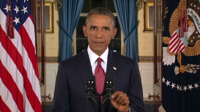 Obama: 'We will degrade & destroy ISIS'