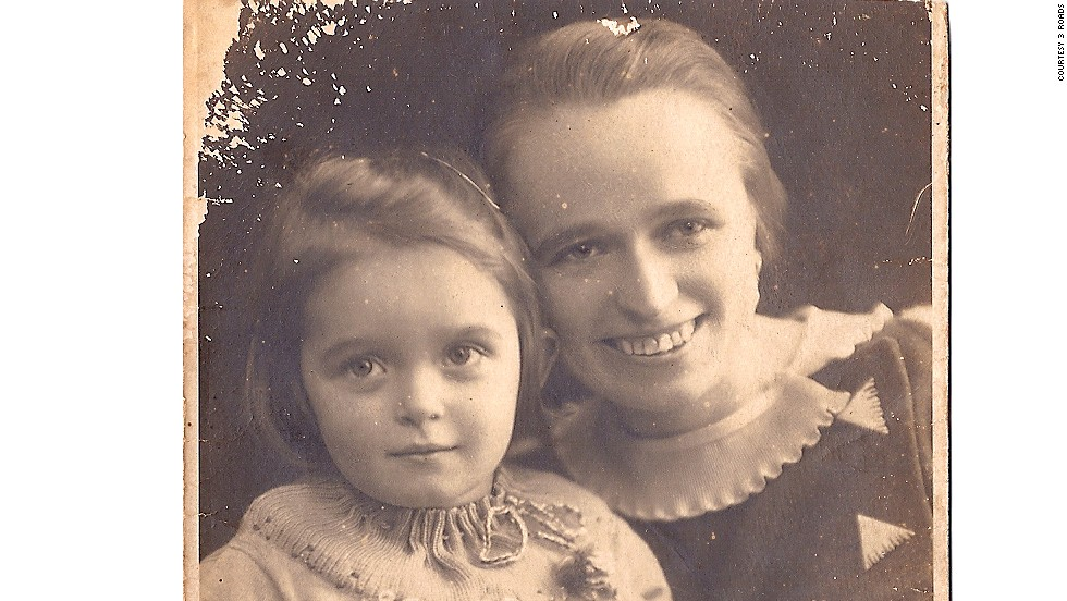 Ursula Miodowski, at age five, and her mother, Martha Miodowski, left Germany after her father, who is Jewish, was imprisoned in a concentration camp.
