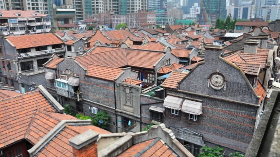 Shikumen, Shanghai's indigenous alleyway residences, are stone buildings first built in the 1870s to accommodate the city's rapidly growing population.