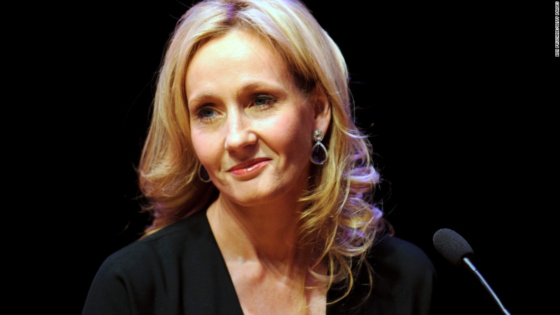 Author J.K. Rowling attends photocall ahead of her reading from 'The Casual Vacancy' at the Queen Elizabeth Hall on September 27, 2012, in London.