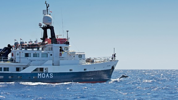 Inspired by a message from Pope Francis, the Malta-based couple invested in the converted fishing trawler (pictured.) Since launching last year, they have been spending an average $445,000 each month in operating costs. They now plan to resume operations in early May.