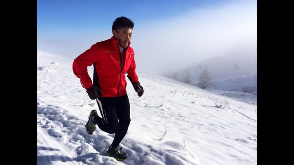 After getting advice from a friend, Kirimoto started running outside. Colorado