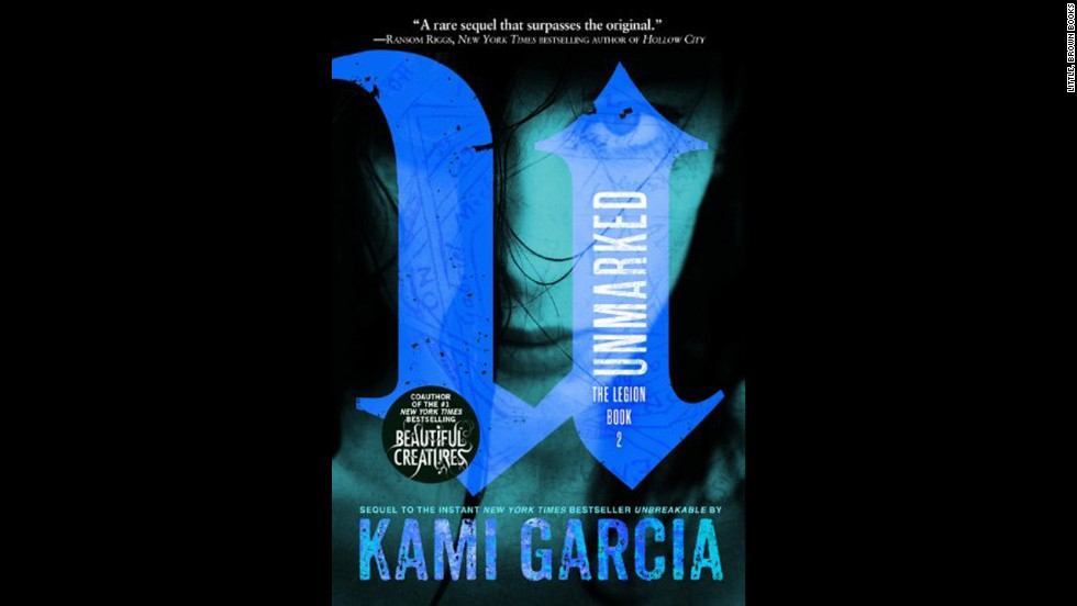 "Bestselling ""Beautiful Creatures"" co-author Kami Garcia returns with the second installment of her Legion series in ""Unmarked."" In a world of ghosts and demons, Kennedy Waters and her fellow Legion members have to hunt down a demon she accidentally set free, revealing more about the Legion's history. Kirkus Reviews says ""Fans hungry for more Legion tales will be left waiting breathlessly for Garcia's next installment."""