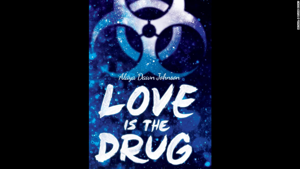 "Emily Bird might be privy to one of the biggest government scandals in Alaya Dawn Johnson's ""Love is the Drug."" The only person she can trust with her secrets is Coffee, a drug-dealing conspiracy theorist. ""Johnson blends high school drama, cloak-and-dagger intrigue, race and class inequities, coming of age, and a passionate love story,"" according to Publishers Weekly."