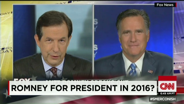 Romney for president in 2016?