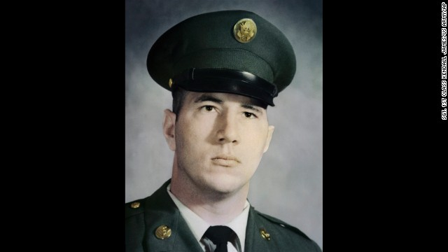 Spc. Donald Paul Sloat is credited with shielding comrades from a grenade near Danang, Vietnam, in January 1970.