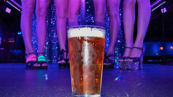 At this Dayton, Ohio strip club, an in-house microbrew takes center stage.