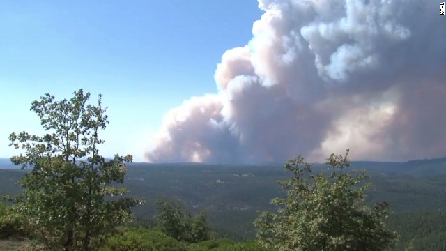 Crews fight to contain King Fire