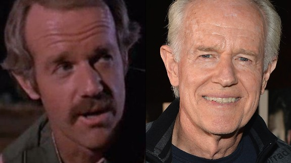 """After Wayne Rogers' Trapper John was discharged, Mike Farrell's B.J. Hunnicutt joined the fray as Hawkeye's new confidant. For non-""""M*A*S*H"""" fans, Farrell's also known as Dr. James Hansen from the aughts drama """"Providence."""" This year, Farrell appears in the new Sundance TV drama """"The Red Road."""""""