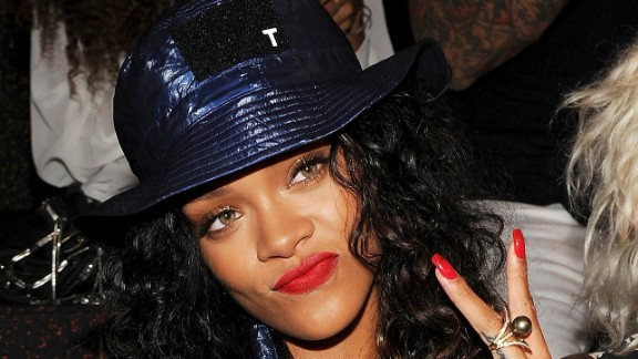 "Rihanna is steaming. A song by the singer -- who was assaulted by then-boyfriend Chris Brown in 2009 -- was pulled from ""Thursday Night Football"" in September 2014 amid coverage of domestic violence and the Ray Rice scandal. She later tweeted, ""CBS you pulled my song last week, now you wanna slide it back in this Thursday? NO, F*** you! Y"