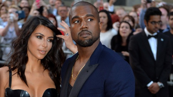 September 2015: West, here with wife Kim Kardashian, asked that concertgoers get to their feet at a show in Sydney. No problem -- until he demanded that some disabled spectators do the same and made snide remarks about a person in a wheelchair.
