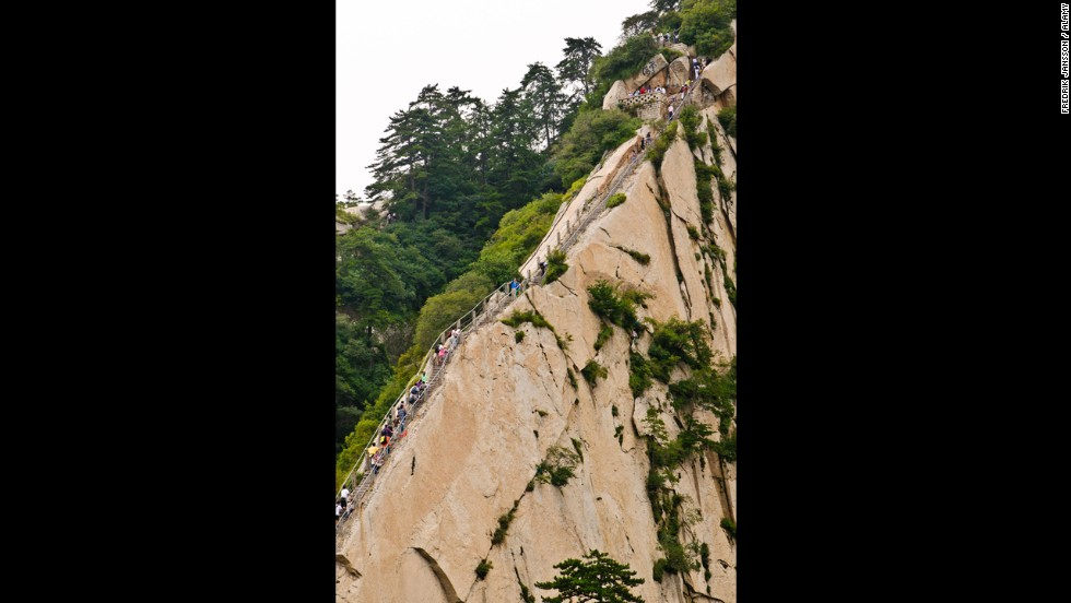 World S Scariest Stairs Do You Dare Climb Their Steps Cnn Travel