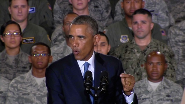 Obama: This will not be America's fight