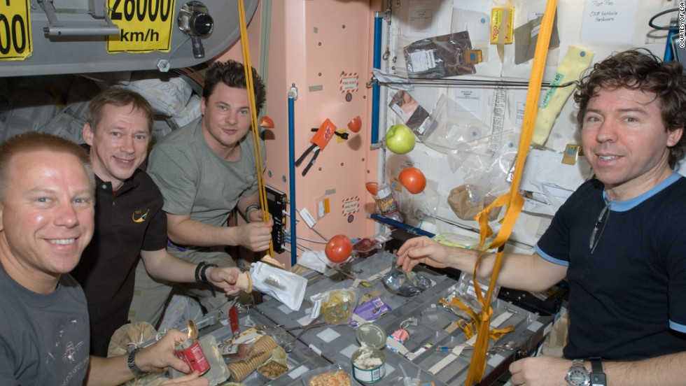 The food, water and oxygen supplies required for astronauts to survive in space results in heavy cargo; a major challenge when planning manned mission to planets such as Mars.