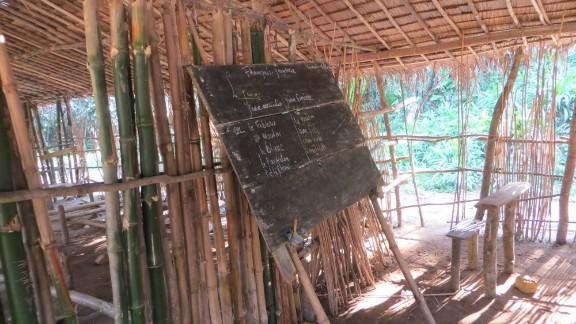 Often, kids going to school in Africa
